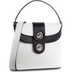Torebka COCCINELLE - D05 Leila E1 D05 15 01 02 Blanche/Noir 760. Białe torebki do ręki damskie Coccinelle, ze skóry. Za 1,649.90 zł.