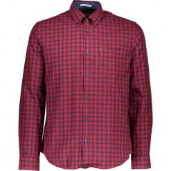 """Koszula """"Gingham"""" - Regular fit - w kolorze czerwono-czarnym. Czarne koszule męskie Ben Sherman, w kratkę, z bawełny, button down. W wyprzedaży za 130.95 zł."""