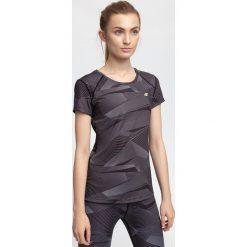 Koszulka treningowa damska TSDF205 - multikolor allover. Koszulki sportowe damskie marki WED'ZE. W wyprzedaży za 79.99 zł.