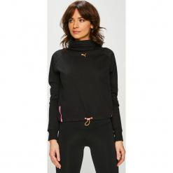 Puma - Bluzka. Czarne bluzki damskie Puma, z bawełny, z golfem. Za 219.90 zł.
