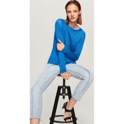 Sweter - Niebieski. Kardigany damskie marki bonprix. W wyprzedaży za 79.99 zł.
