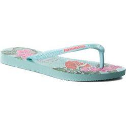 Japonki HAVAIANAS - Slim Floral 41298480642 Ice Blue. Klapki damskie marki bonprix. W wyprzedaży za 99.00 zł.