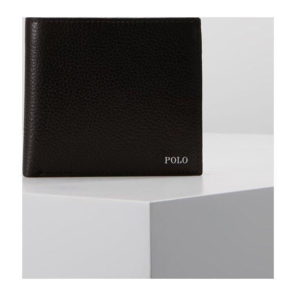 0778f5da019e8 Polo Ralph Lauren Portfel dark brown - Portfele męskie marki Polo ...