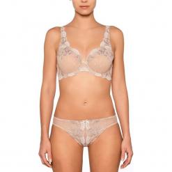 """Figi """"Diamant"""" w kolorze cielistym. Białe figi damskie Millesia, w koronkowe wzory, z koronki. W wyprzedaży za 159.95 zł."""