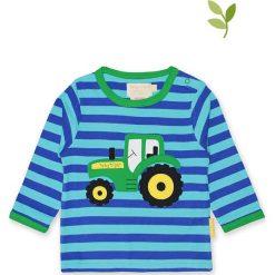 Koszulka w kolorze niebieskim. Bluzki dla dziewczynek marki Reserved. W wyprzedaży za 85.95 zł.