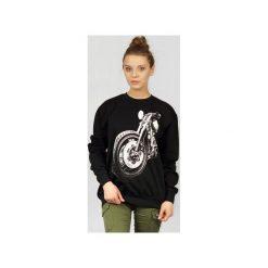 Bluza UNDERWORLD casual Motor. Czarne bluzy męskie Underworld, z nadrukiem, z bawełny. Za 119.99 zł.