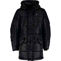 GStar WHISTLER HDD PARKA Płaszcz zimowy black. Parki męskie G-Star, na zimę, z materiału. W wyprzedaży za 998.10 zł.