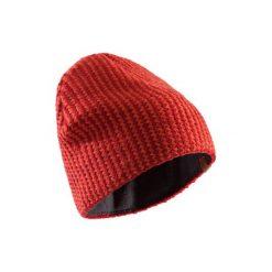 Czapka FDW czerwona. Brązowe czapki i kapelusze damskie SIMOND. Za 39.99 zł.