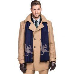 Płaszcz LOUIS PSEE000038. Brązowe płaszcze męskie Giacomo Conti, na jesień, z kaszmiru, eleganckie. Za 1,299.00 zł.