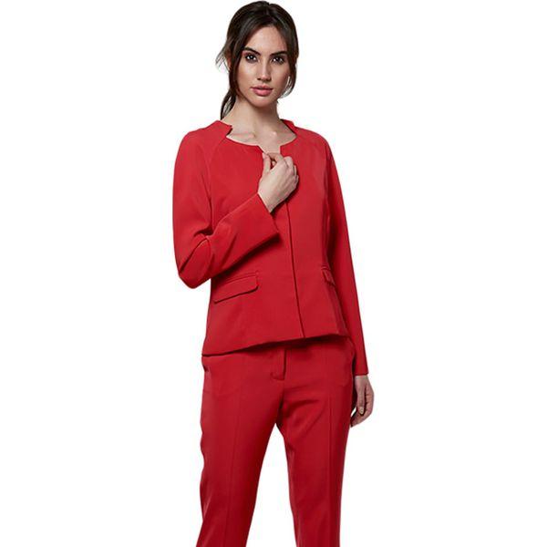a40b84b672343 Marynarka w kolorze czerwonym - Czerwone żakiety damskie marki ...