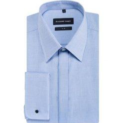 Koszula SIMONE slim KDNS000468. Niebieskie koszule męskie Giacomo Conti, z bawełny, z klasycznym kołnierzykiem, z długim rękawem. Za 199.00 zł.
