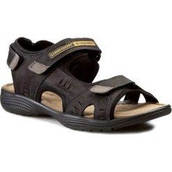 Sandały GREGOR - 01192-ME-C10 Czarny. Czarne sandały męskie Gregor, z materiału. W wyprzedaży za 159.00 zł.