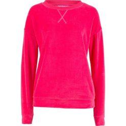 Bluza z dzianiny welurowej nicki bonprix różowy hibiskus. Bluzy damskie marki KALENJI. Za 74.99 zł.
