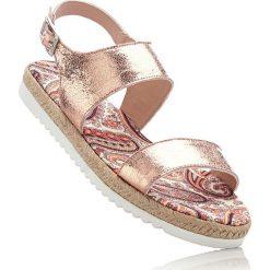 Sandały bonprix kolor czerwonego złota. Sandały damskie marki Nike. Za 32.99 zł.