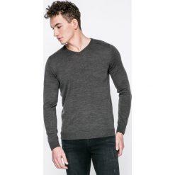 Kensington - Sweter. Czarne swetry przez głowę męskie Kensington, z dzianiny. W wyprzedaży za 39.90 zł.