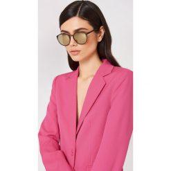 Le Specs Okulary przeciwsłoneczne Swizzle - Brown. Brązowe okulary przeciwsłoneczne damskie Le Specs. Za 202.95 zł.