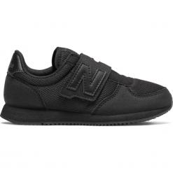New Balance KV220TBY. Czarne buty sportowe dziewczęce New Balance, na lato, z materiału. W wyprzedaży za 139.99 zł.