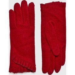 Medicine - Rękawiczki Hand Made. Czerwone rękawiczki damskie MEDICINE, z dzianiny. W wyprzedaży za 47.90 zł.