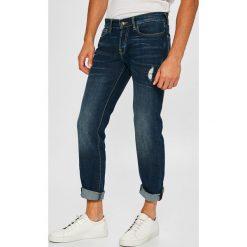 Guess Jeans - Jeansy Sonny. Niebieskie jeansy męskie Guess Jeans. W wyprzedaży za 339.90 zł.