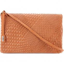 Torebka damska 78-4-372-5. Pomarańczowe torebki do ręki damskie Wittchen, w paski. Za 499.00 zł.