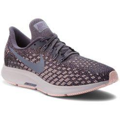 Buty NIKE - Air Zoom Pegasus 35 942855 006 Gridiron/Light Carbon. Niebieskie obuwie sportowe damskie Nike, z materiału. W wyprzedaży za 369.00 zł.