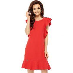 Sukienka z falbankami l248. Czerwone sukienki dla dziewczynek Lemoniade, wizytowe. W wyprzedaży za 119.00 zł.