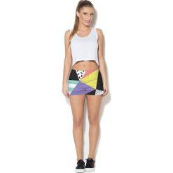 Colour Pleasure Spodnie damskie CP-020 24 czarno-zółte r. XL/XXL. Spodnie dresowe damskie marki bonprix. Za 72.34 zł.