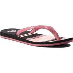 Japonki adidas - Eezay Flip Flop B43550 Tramar/Cleora/Cblack. Czerwone klapki damskie Adidas, z tworzywa sztucznego. Za 79.95 zł.