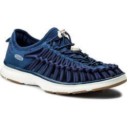 Sandały KEEN - Uneek O2 1018715 Estate Blue/ Harvest Gold. Niebieskie sandały męskie Keen, z materiału. W wyprzedaży za 259.00 zł.