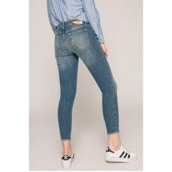 Desigual - Jeansy. Niebieskie jeansy damskie Desigual. W wyprzedaży za 239.90 zł.