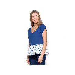 Bluzka K431 Granat. Niebieskie bluzki damskie Katrus. Za 109.00 zł.