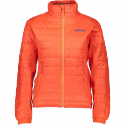 """Kurtka funkcyjna """"Pro Thinsulator"""" w kolorze pomarańczowym. Brązowe kurtki damskie Völkl, z materiału. W wyprzedaży za 260.95 zł."""