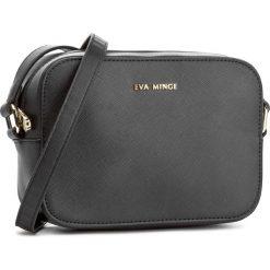 Torebka EVA MINGE - Evita 2A 17NB1372165EF 901. Czarne listonoszki damskie Eva Minge, ze skóry ekologicznej. W wyprzedaży za 169.00 zł.