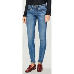 Pepe Jeans - Jeansy Pixie x Wiser Wash. Niebieskie jeansy damskie Pepe Jeans. Za 399.90 zł.