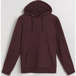 Bluza z kapturem - Bordowy. Czerwone bluzy męskie Reserved. Za 139.99 zł.