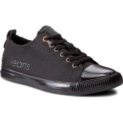 Trampki CALVIN KLEIN JEANS - Arturo S0475 Black. Czarne trampki męskie Calvin Klein Jeans, z gumy. Za 439.00 zł.