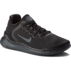Buty NIKE - Free Rn 2018 942837 002 Black/Anthracite. Czarne obuwie sportowe damskie Nike, z materiału. W wyprzedaży za 329.00 zł.