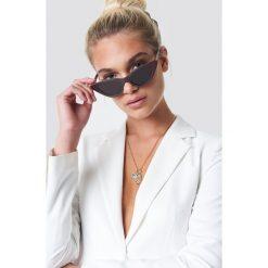 NA-KD Accessories Okulary przeciwsłoneczne Pointy Cat Eye - Red. Czerwone okulary przeciwsłoneczne damskie NA-KD Accessories. Za 60.95 zł.