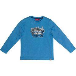Koszulka w kolorze niebieskim. T-shirty dla chłopców marki Reserved. W wyprzedaży za 35.95 zł.