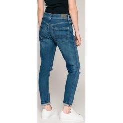 Pepe Jeans - Jeansy Joey Eco x Wisher Wash. Niebieskie jeansy damskie Pepe Jeans. W wyprzedaży za 269.90 zł.