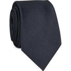 Krawat KWCR001254. Czarne krawaty i muchy Giacomo Conti, z mikrofibry, eleganckie. Za 69.00 zł.