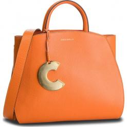 Torebka COCCINELLE - DB5 Concrete E1 DB5 18 01 01 Flash Orange R12. Brązowe torebki do ręki damskie Coccinelle, ze skóry. Za 1,699.90 zł.