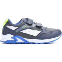 Granatowo-Szare Buty Sportowe Hold Up. Niebieskie buty sportowe chłopięce Born2be, z materiału. Za 49.99 zł.