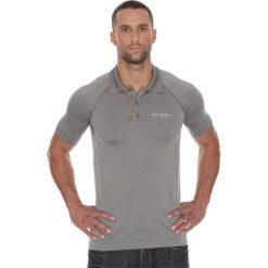 Brubeck Koszulka męska polo Prestige z krótkim rękawem szara r. XXL (SS10920). Koszulki sportowe męskie Brubeck, z krótkim rękawem. Za 171.23 zł.