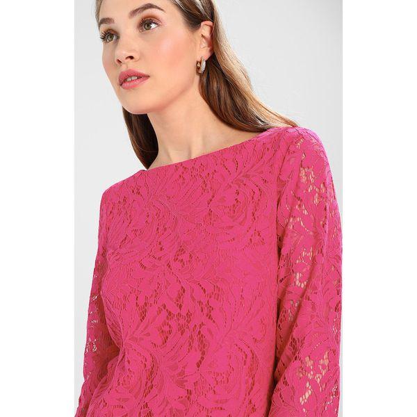7ab8770531 comma KURZ Sukienka letnia pink - Sukienki damskie marki comma