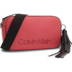 Torebka CALVIN KLEIN - Pop Crossbody K60K604469 627. Czerwone listonoszki damskie Calvin Klein, ze skóry ekologicznej. Za 549.00 zł.