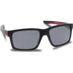 Okulary przeciwsłoneczne OAKLEY - Mainlink OO9264-12 Matte Black/Black Iridium. Czarne okulary przeciwsłoneczne męskie Oakley, z tworzywa sztucznego. W wyprzedaży za 509.00 zł.