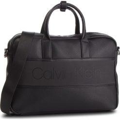 Torba na laptopa CALVIN KLEIN - Strike Slim Laptop Bag K50K504277 001. Czarne torby na laptopa damskie Calvin Klein, ze skóry ekologicznej. Za 599.00 zł.
