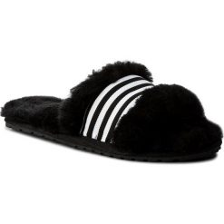 Kapcie EMU AUSTRALIA - Wrenlette W11634 Black. Czarne kapcie damskie Emu Australia, ze skóry. Za 259.00 zł.