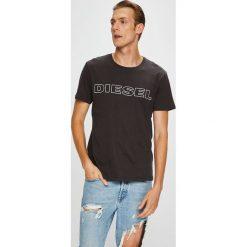 Diesel - T-shirt/polo UMLT.JAKE.0DARX. Szare koszulki polo męskie Diesel, z nadrukiem, z dzianiny. Za 169.90 zł.